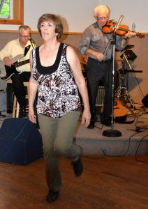 JANET EGAN gave a wonderful display of Gatineau Valley stepdancing at the Brennan's Hill Inn.